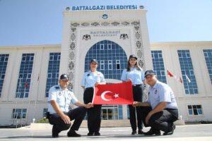 Battalgazi Belediyesinde Zabıta Haftası Kutlandı.